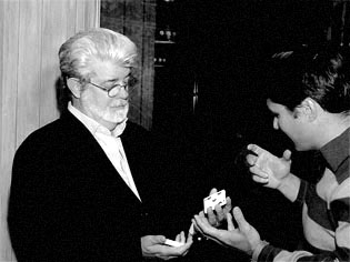 Performing for George Lucas